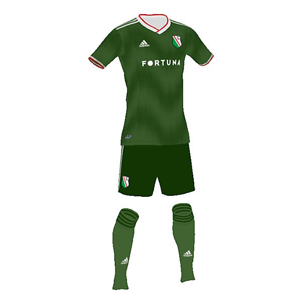 Legia away kit