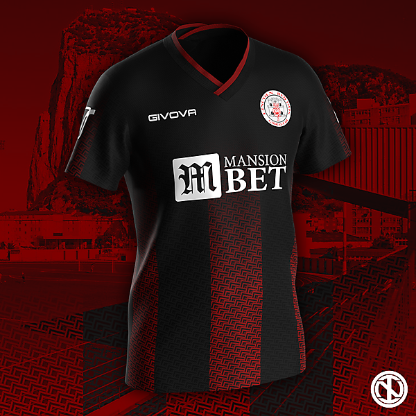 Lincoln Red Imps | Home Kit Concept
