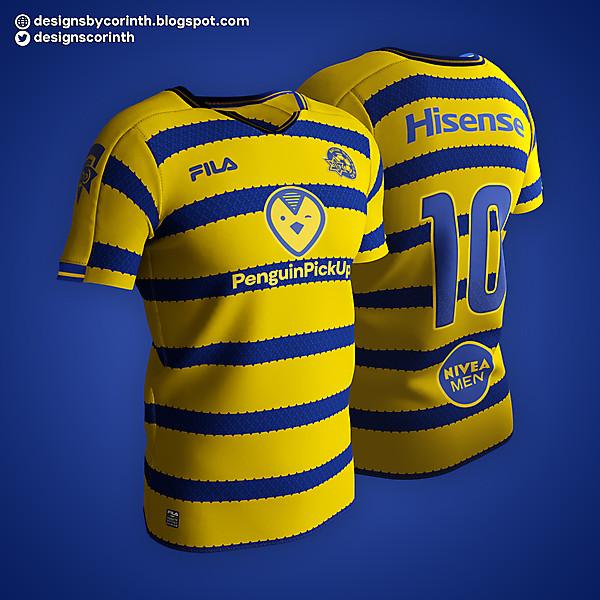 Maccabi Tel-Aviv   Home Shirt
