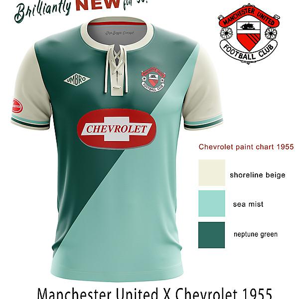 Manchester United x Chevrolet retro change concept