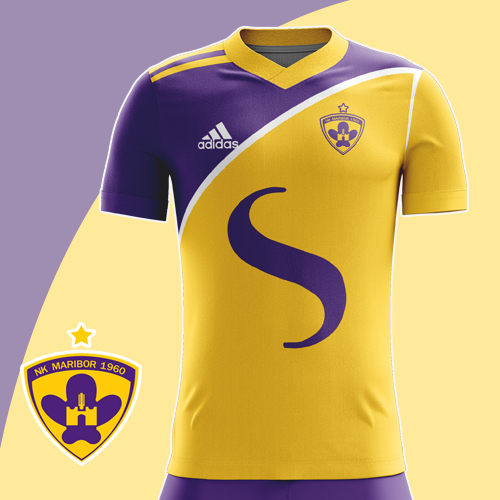 Maribor Home Shirt
