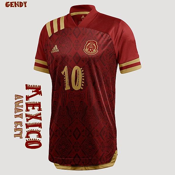 Mexico - Away Kit