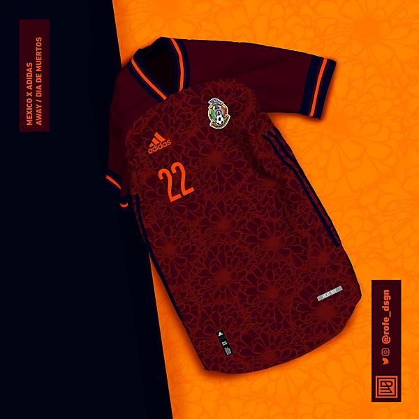 México Away Kit x Adidas | Día de Muertos | 2 NOV