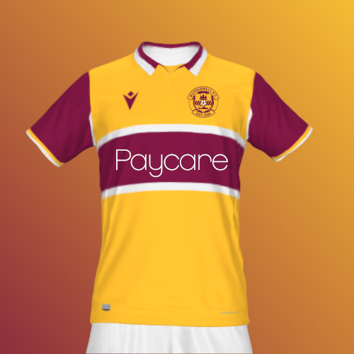 Motherwell Home Shirt