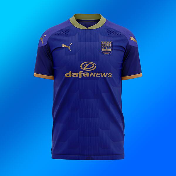 MUMBAI CITY FC KIT BLUE