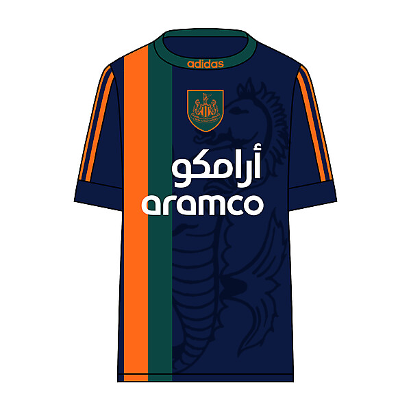 Newcastle United - Adidas - Away Kit