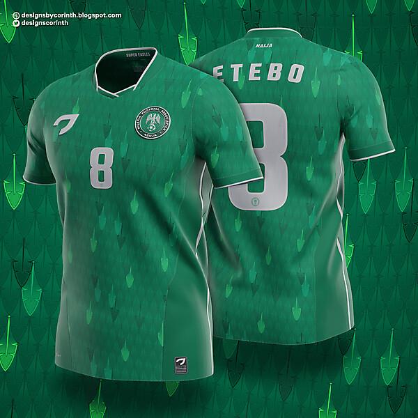 Nigeria   Home Shirt