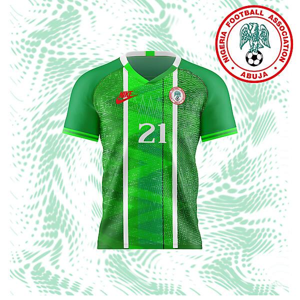 Nigeria home concept
