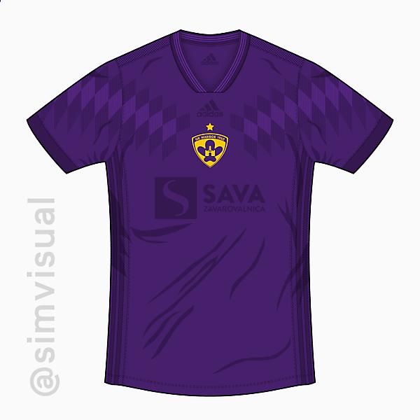 NK Maribor Home Shirt - Adidas 18/19