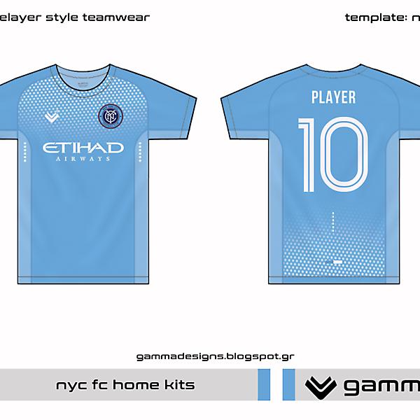 NYCFC home kit