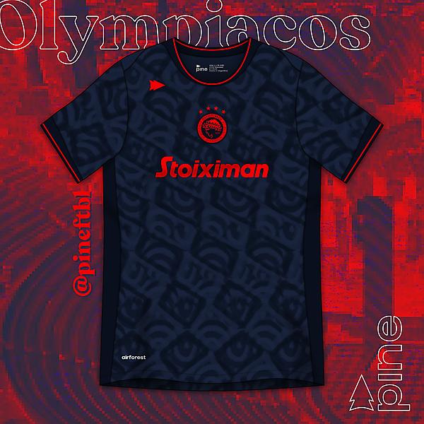Olympiacos Away x Pine