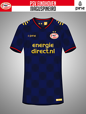 PSV Eindhoven Away Kit by Pine