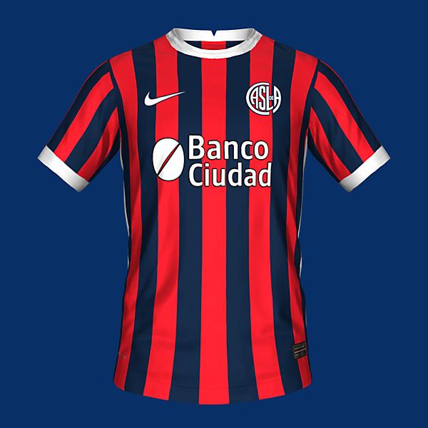 San Lorenzo home kit by @feliplayzz
