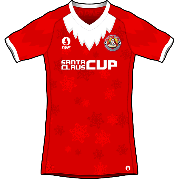 Santa Claus FC Home Kit Design by Pine - KOTW