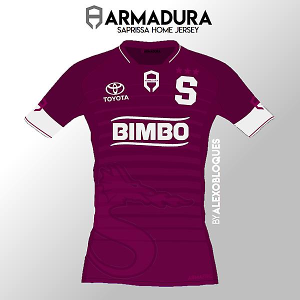 Saprissa Home Jersey | ARMADURA
