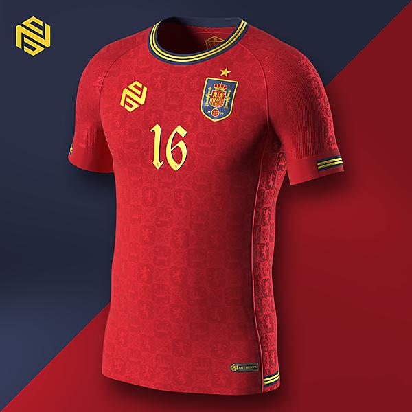 Selección de fútbol de España Home x NS