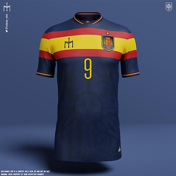 Selección de fútbol de España X TRIDENTE | Away kit | KOTW