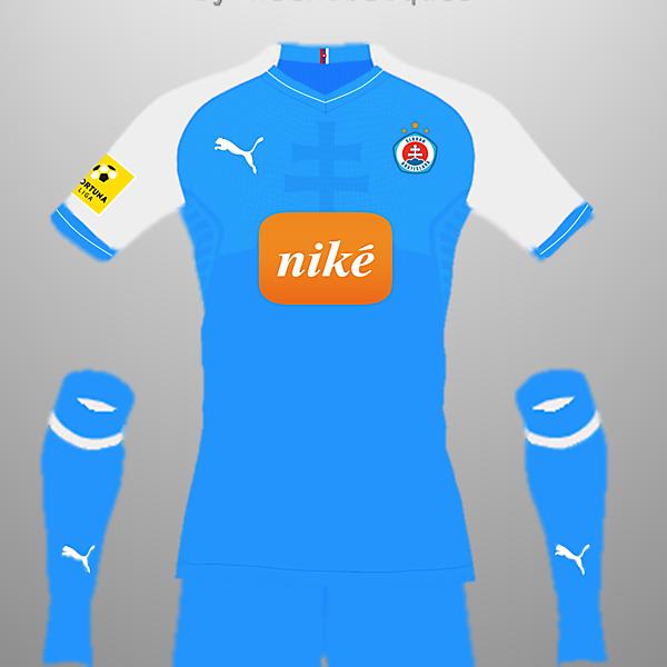 Slovan Bratislava FC Home Kit