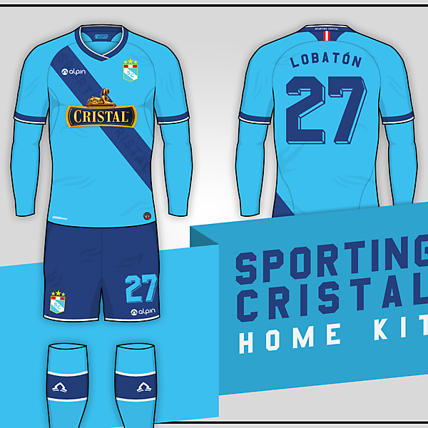Sporting Cristal // Home Kit
