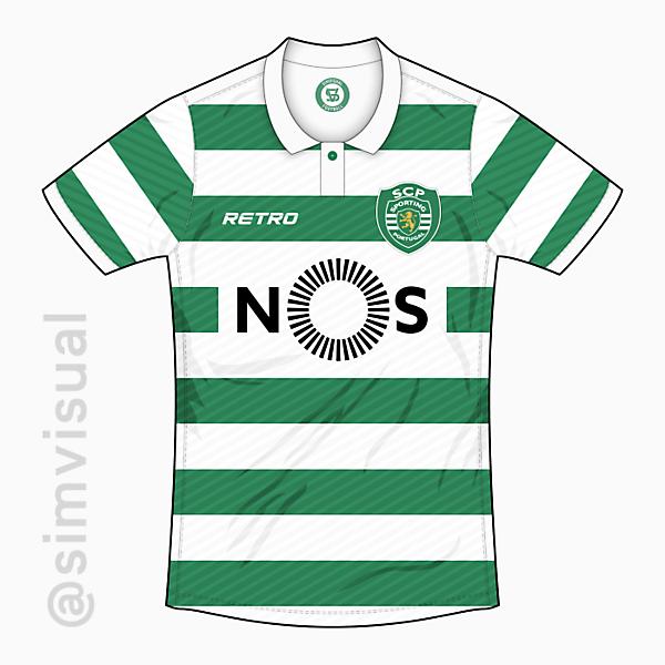 Sporting Portugal Home Shirt - Retro