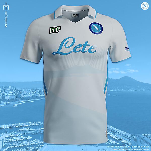 S.S.C. Napoli X Ennerre | Away kit | KOTW