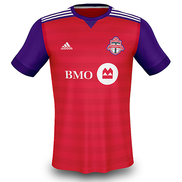 Toronto FC Home Kit (Toronto Raptors Inspired)