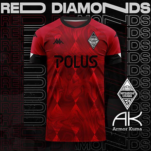 Urawa Red Diamonds Nike Home Kit