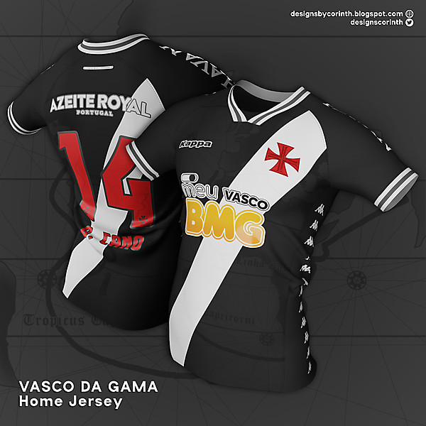 Vasco da Gama   Home Jersey