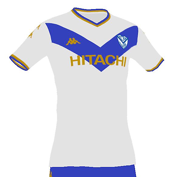 Velez Sarsfield home kit