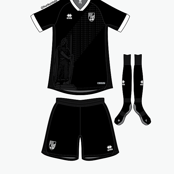 Vitoria SC away kit by @kunkuntoto