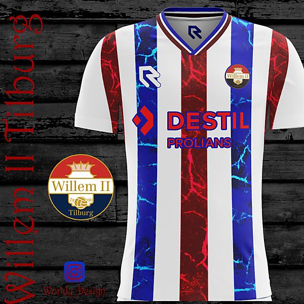 Willem II Tilburg home kit   KOTW   Worldy_Design