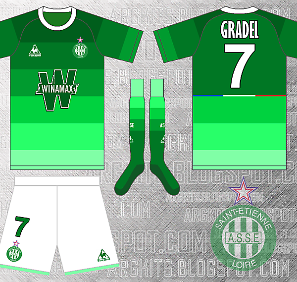 Le Coq Sportif - AS Saint-Etienne [CLOSED}