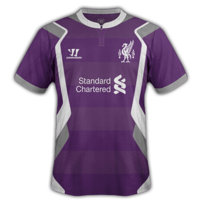 Liverpool fantasy Away and Third