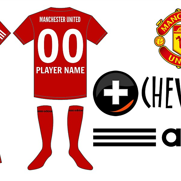 Manchester united new home shirt