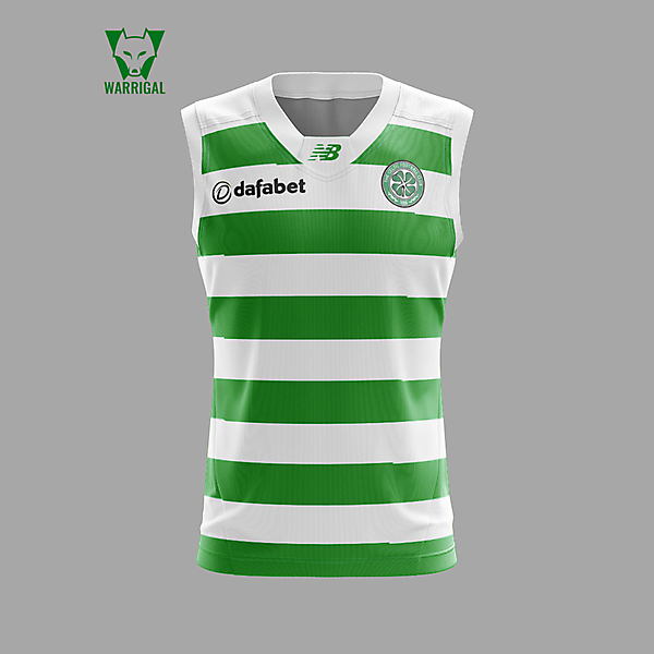 Celtic FC - Aussie Rules style
