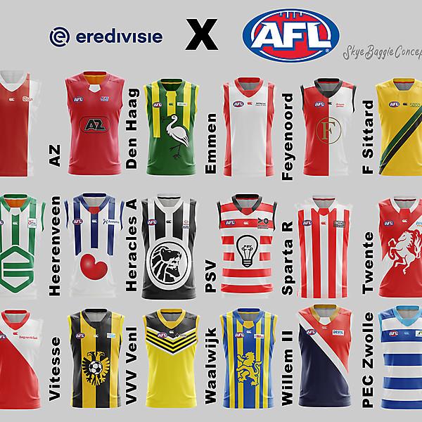 Eredivisie 2020 x Aussie Rules Crossover