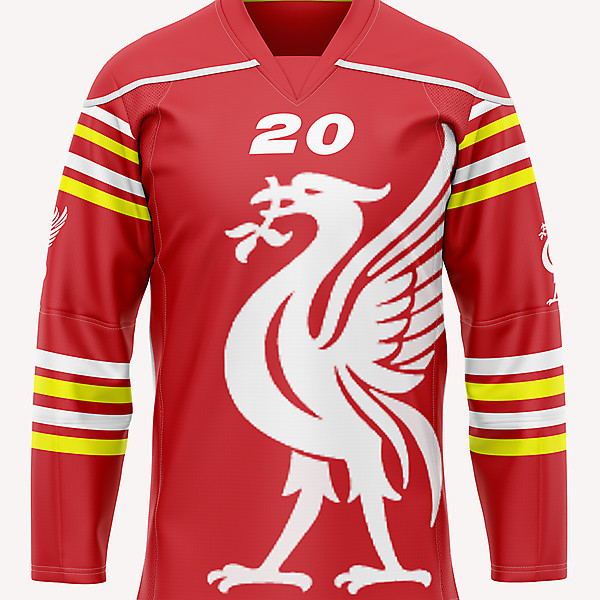 Liverpool Ice Hockey crossover concept