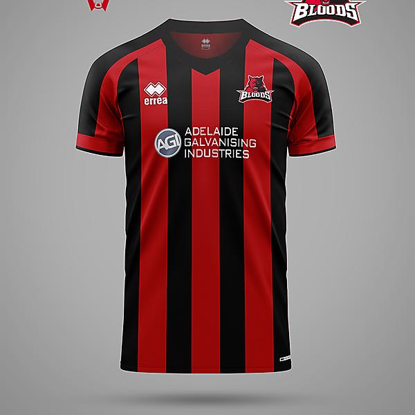 West Adelaide Bloods - SANFL to soccer