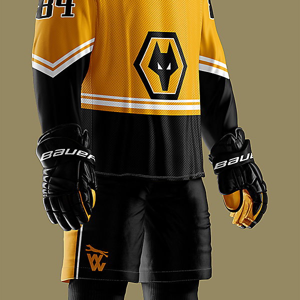 Wolverhapton Wanderers - Wolves NHL style