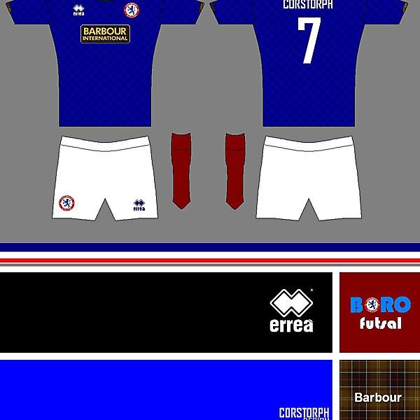 Middlesbrough Futsal Club errea - Barbour - Corstorph Design 013