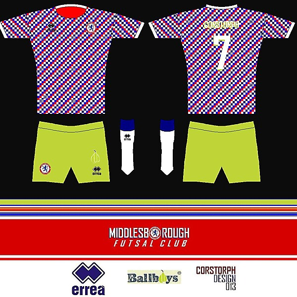 Middlesbrough Futsal - Ballboys Kit
