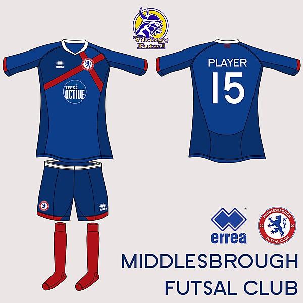 Boro Futsal Home Kit v.4