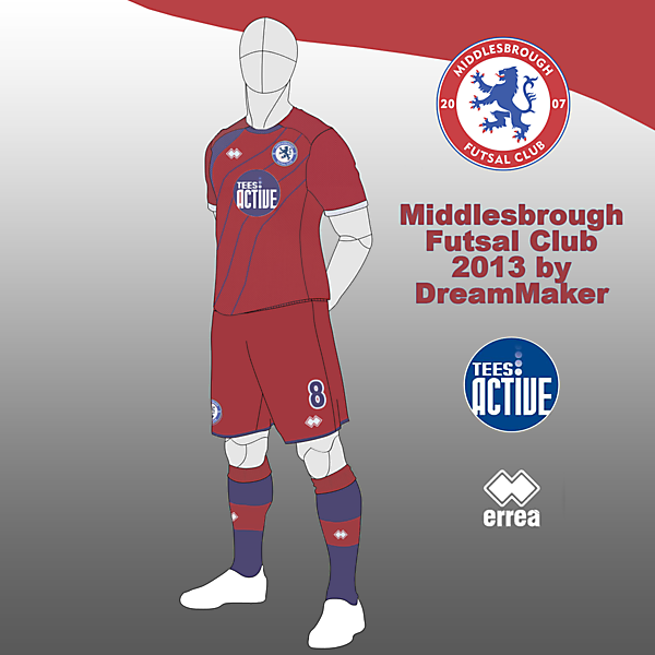 Middlesbrough Futsal Club 2013 Ver 11