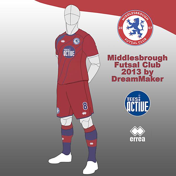 Middlesbrough Futsal Club 2013 Ver 11