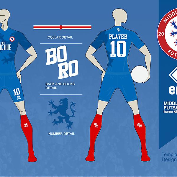 Boro Futsal kit