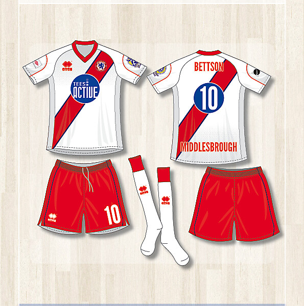 Middlesbrough Futsal Club (Away kit)