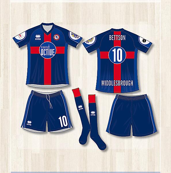 Middlesbrough Futsal Club (Home kit)