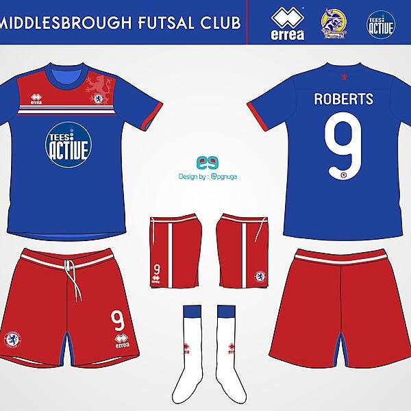 Errea Middlesbrough Futsal Club Home Kit #2