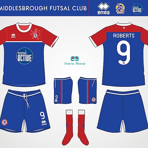 Errea Middlesbrough Futsal Club Home Kit #5