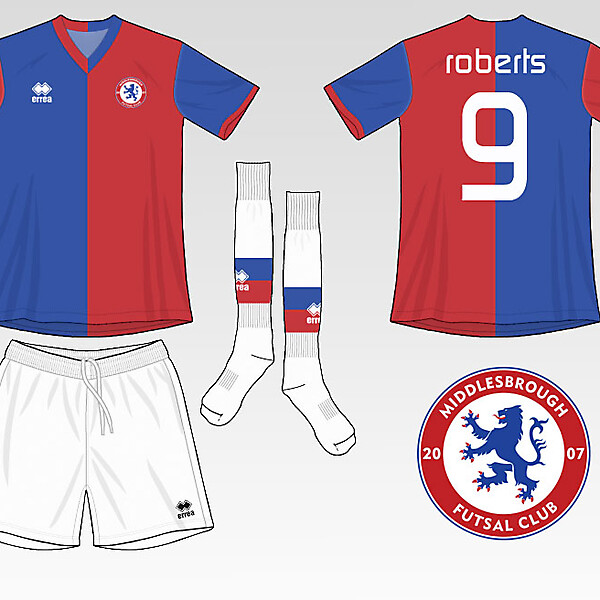 Middlesbrough Futsal Club Kit